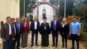 Συνάντηση του Κηφισίας Κυρίλλου με τον Γ. Καραμέρο