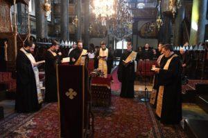 Το Μυστήριο του Αγίου Ευχελαίου στον Πατριαρχικό Ναό