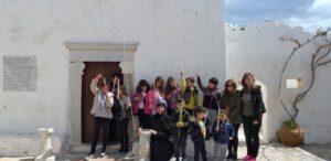 Σίκινος: Στο Καστρομομάστηρο μαθητές και μαθήτριες