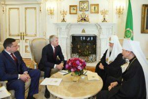 Συνάντηση του Μόσχας Κυρίλλου με τον Υπουργό Αθλητισμού της Ρωσίας