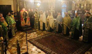 Κερκύρας: «Ο Άγιος Σπυρίδων είναι κήρυκας της Αναστάσεως του Κυρίου»