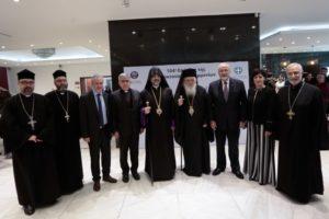 Ο Αρχιεπίσκοπος στην εκδήλωση για τη Γενοκτονία των Αρμενίων (ΦΩΤΟ)