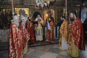 Αγιο Ορος: Στην Ι.Μ. Παντοκράτορος ο Αδριανουπόλεως Αμφιλόχιος (ΦΩΤΟ)