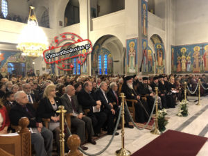Νεκταρία Καρατζή και Β.Τσαμπρόπουλος συγκλόνισαν τον Αρχιεπίσκοπο