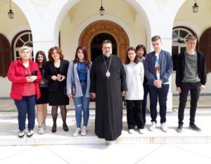 Μαθητές επισκέφθηκαν τον Μεσσηνίας Χρυσόστομο (ΦΩΤΟ)