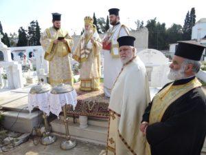 Ι.Μ. Κορίνθου: Θεία Λειτουργία υπέρ των αοιδίμων Κορινθίων (ΦΩΤΟ)