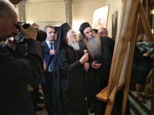 Εκθεση Αγιογραφίας π.Λουκά Ξενοφωντινού στην Κωνσταντινούπολη (ΦΩΤΟ)