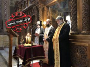 Κοσμοσυρροή στο Μέγα Ευχέλαιο – Αγιος Διονύσιος Αρεοπαγίτης
