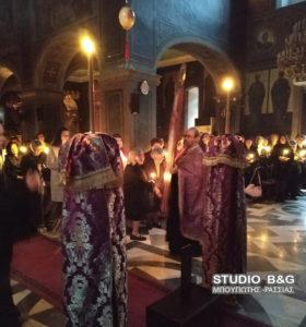 Άργος: Η Ακολουθία του Νυμφίου στον καθεδρικό Ιερό Ναό του Αγίου Πέτρου