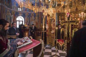 Τα Πάθη του Κυρίου στο Αγιο Ορος παρουσία του Πολιτικού διοικητή