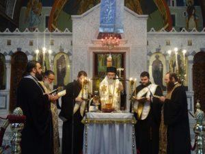 Ιερά Ευχέλαια τέλεσε ο Κορίνθου Διονύσιος (ΦΩΤΟ)