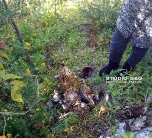 Νεαρός βρήκε εκκλησιαστικά σκεύη κάτω από το Παλαμήδι στο Ναύπλιο