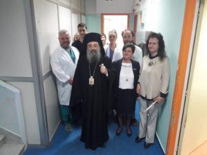 Ιδρύματα της πόλης επισκέφθηκε ο Πατρών Χρυσόστομος (ΦΩΤΟ)