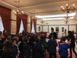 Με μαθητές συναντήθηκε ο Μητροπολίτης Χαλκίδος Χρυσόστομος (ΦΩΤΟ)