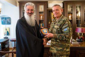 Ο Αρχηγός της 1ης Στρατιάς στον Αλεξανδρουπόλεως Ανθιμο (ΦΩΤΟ)