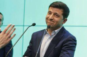 Ουκρανία – Εκλογές :  «Μαύρο» στον Ποροσένκο – 73 % στον Ζελένσκι
