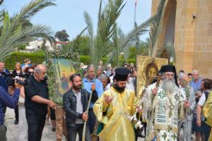 Κυριακή των Βαΐων στην κατεχόμενη Μόρφου