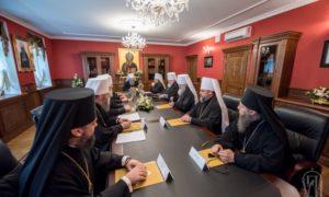Η Ι. Σύνοδος της Ουκρανικής Εκκλησίας για το ουκρανικό