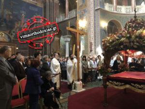 Η αποκαθήλωση του Κυρίου στον Αγιο Διονύσιο Αρεοπαγίτη (ΒΙΝΤΕΟ & ΦΩΤΟ)