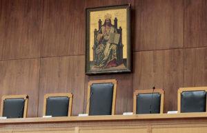 ΟΧΙ από το ΣτΕ στην αφαίρεση εικόνων από τα δικαστήρια