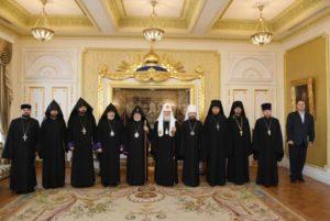 Συνάντηση του Μόσχας Κυρίλλου με τον Αρμένιο Πατριάρχη (ΦΩΤΟ)