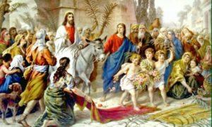 Ύμνοι της Κυριακής των Bαΐων από Αγιο Ορος και Μέγα Πρωτοπρεσβύτερο π. Γεώργιο Τσέτση