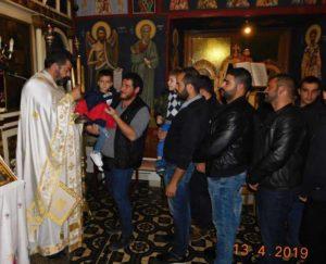 Το κήρυγμα του Παπα-Ανδρέα στα Ανώγεια σε έναν κατάμεστο Ναό από άνδρες (ΦΩΤΟ)