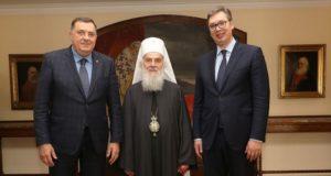 Συνάντηση του Σερβίας Ειρηναίου με τον Πρόεδρο Βούτσιτς