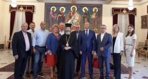 Ρώσοι αξιωματούχοι στην Αρχιεπισκοπή Κύπρου