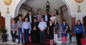 Ευρωπαίοι δικαστικοί στην Αρχιεπισκοπή Κύπρου (ΦΩΤΟ)