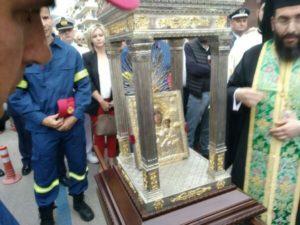 Καλαμάτα: Η Παναγία Βουλκανιώτισσα στην Αγία Αικατερίνη