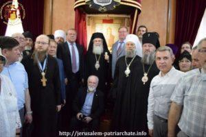 Πρόεδροι της Ρωσικής Παλαιστινιακής Εταιρείας στον Ιεροσολύμων Θεόφιλο