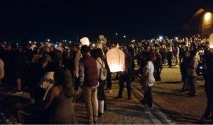 Γενοκτονία Ποντίων: 100 φαναράκι στον ουρανό της Θεσσαλονίκης