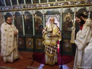 Ο Καστορίας Σεραφείμ στην εορτή του Αγίου Νεομάρτυρος Ιωάννου-Νούλτσου