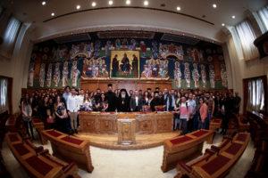 Φοιτητές της Θεολογικής Σχολής στην Ιερά Σύνοδο της Εκκλησίας της Ελλάδος (ΦΩΤΟ)