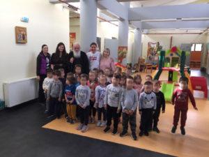 Ο Αρχιεπίσκοπος στον Παιδικό Σταθμό της «Αποστολής» στο Δήλεσι (ΦΩΤΟ)