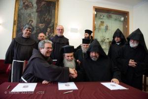 Ιεροσόλυμα: Υπογραφή σύμβασης για συνέχιση των εργασιών στον Πανάγιο Τάφο