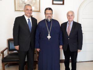 Με υποψηφίους συναντήθηκε ο Μεσσηνίας Χρυσόστομος (ΦΩΤΟ)