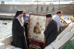 Στον Βόλο η Ιερά Εικόνα της Παναγίας Φοβεράς Προστασίας (ΦΩΤΟ)