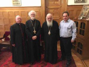 Στον Ιερώνυμο ο πρώην Αρχιεπίσκοπος Κανταουρίας (ΦΩΤΟ)