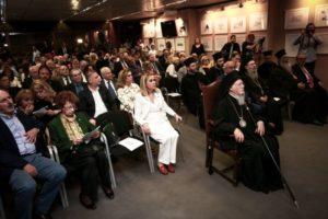 Στα γραφεία της ΕΣΗΕΑ ο Οικουμενικός Πατριάρχης (ΦΩΤΟ)