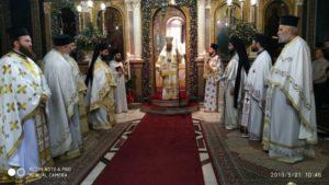 Καρδίτσα: Πανηγύρισε ο Ιερός Μητροπολιτικός Ναός (ΦΩΤΟ)
