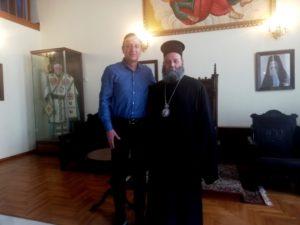 Συνάντηση του Ιωαννίνων Μαξίμου με τον Δήμαρχο της πόλης