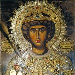 Αγιο Ορος: Οι θαυματουργές Εικόνες του Αγίου Γεωργίου