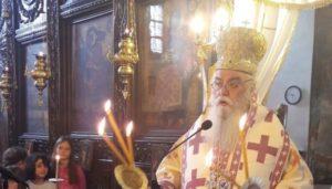 Εορτή του Αγίου Θεράποντος στη Μητρόπολη Καστορίας (ΦΩΤΟ)