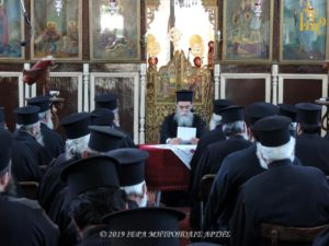 Ιερατική Σύναξη στην Ι. Μ. Άρτης