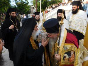 Στη Μητρόπολη Καλαμαριάς η Τιμία Κάρα του Αγίου Παντελεήμονος (ΦΩΤΟ)