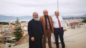 Στο συσσίτιο της Ευαγγελιστρίας Ναυπλίου ο Ακης Τσελέντης (ΦΩΤΟ)