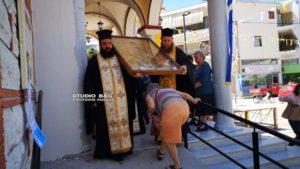 Ναύπλιο: Αναχώρησε η Εικόνα της Παναγίας της Σηλυβριανής (ΒΙΝΤΕΟ & ΦΩΤΟ)