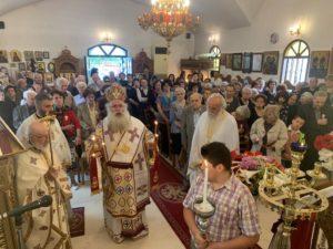 Πανηγύρισε το Ιερό Προσκύνημα των Αγίων Κωνσταντίνου και Ελένης Σητείας (ΦΩΤΟ)